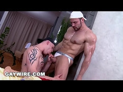 GAYWIRE Massage The Dick For Anal Sex On Rub Him With Tomm Paul Fresh