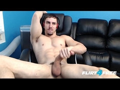 Horse Hung Hunk Fires Off a Big Load in His Mouth