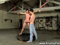 Gay movie of The caning catches the man off guard, and the ball