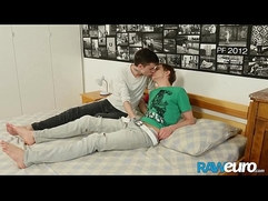 RAWEURO Blonde European Twink Corey Law Getting Pounded Raw