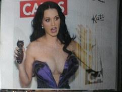 Huge Cumshot On Katy Perry