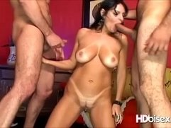 Bisexual Triple Ass Nailing