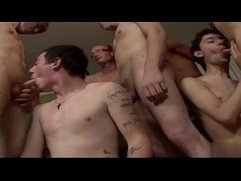 Gay old guys group sex Jerry & Sonny Smoke Sex