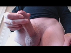 My solo Ejaculating a lot of cum from my horny cock
