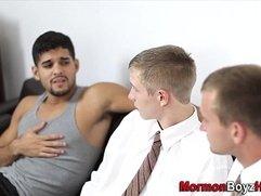 Mormons elders suck cock