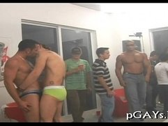 Lascivious homosexuals arrange a sex party