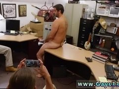 Straight male undresses another male gay Straight dude heads gay for