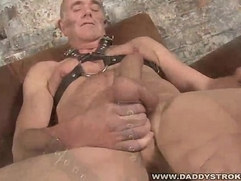 Daddy Playing With His Baton