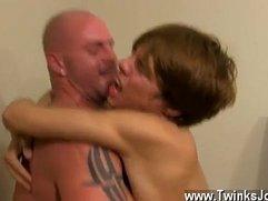 Gay sex Horrible manager Mitch Vaughn wasn't struck when he caught