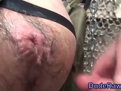 Bear raw fuck and creampie