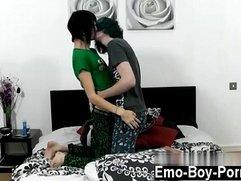 Emo gay porn young boys movies Hot new emo Tyler Ellis displays us